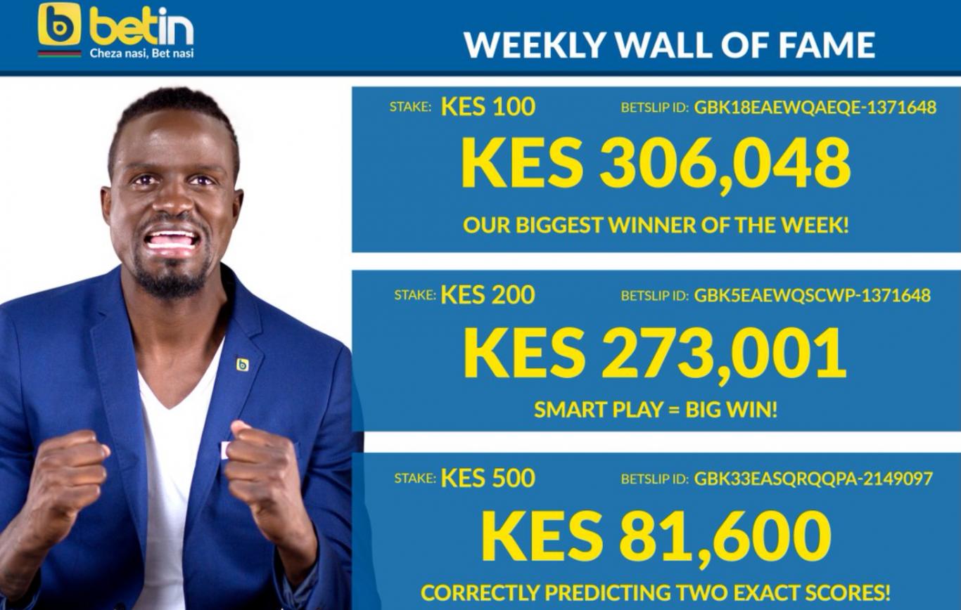 Betin Kenya bonus code